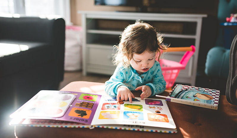 Keep toddlers entertained indoors