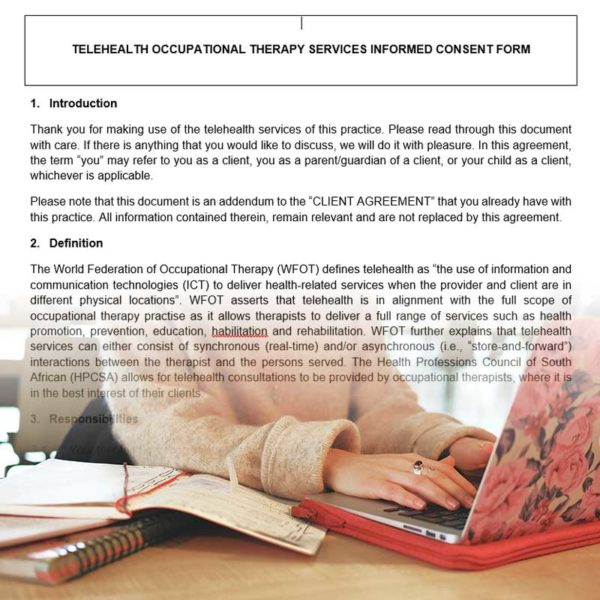 Telehealth Informed Consent Template